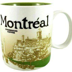 Starbucks Coffee Mug Montreal Global Icon City